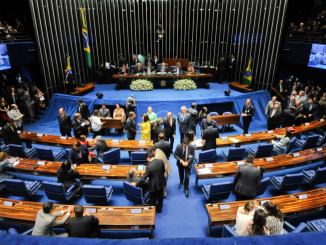 Plenário do Senado Federal.