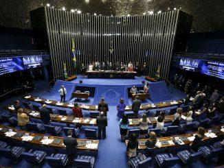 Foto do interior do Congresso Nacional