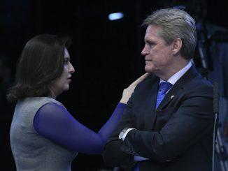Senador Dário Berger e Senadora Simone Tebet.