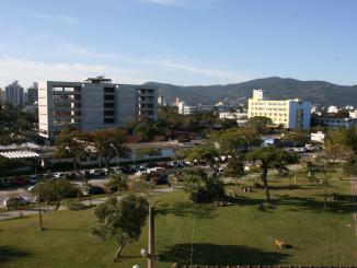 Estacionamento do Centro de Ciências Biológicas da UFSC