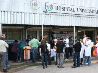 Hospital Universitário da UFSC.