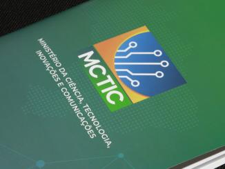Logo do Ministério da Ciência, Tecnologia, Inovação e Comunicação (MCTIC).