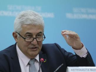 Ministro da Ciência e Tecnologia, Marcos Pontes