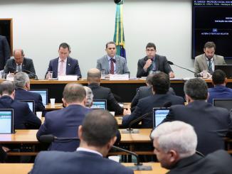 Votação na Câmara dos Deputados sobre a Reforma da Previdência dos militares.