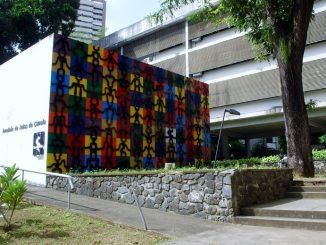 Fachada de prédio da UFBA