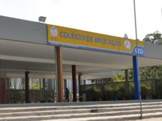 Entrada do Colégio Aplicação da UFSC