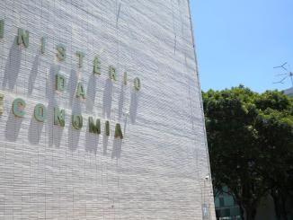 Imagem do prédio do Ministério da Economia