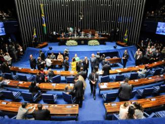 Plenário do Senado Federal.