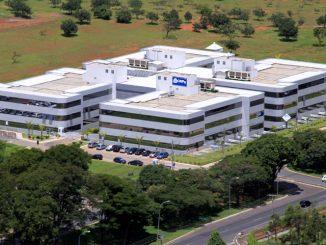 vista aérea do prédio do CNPq