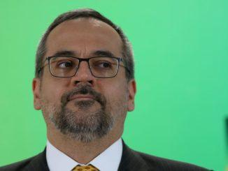 Minstro da Educação. Abraham Weintraub