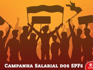 imagem de divulgação da campanha salarial do serviço público
