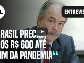 ex-ministro da Educação Aloizio Mercadante (PT). Reprodução