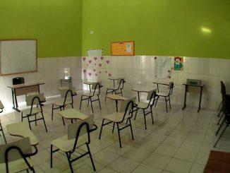 Escola de Boipepa, na cidade de Cairu, que receberá mais R$ 4 milhões de Fundeb ate 2026 Foto: Agência O Globo