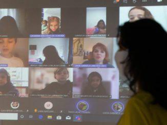 Uso de um sistema híbrido exigirá mais tanto de docentes quanto de alunos Foto: Werther Santana/Estadão