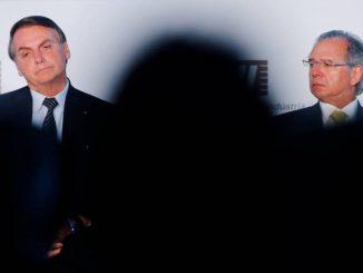 Jair Bolsonaro e Paulo Guedes, em evento em dezembro de 2019.Foto: Adriano Machado / Reuters