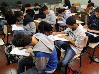 Estudantes fazem o Enem. Foto: Gabriel Jabur/Agência Brasília