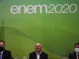 Inep e MEC em coletiva sobre enem 2020. Milton Ribeiro. Foto: Marcello Casal jr/Agência Brasil