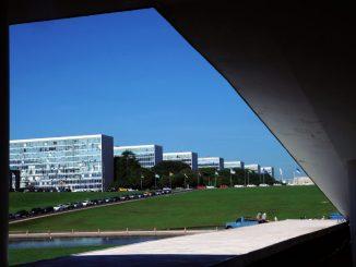 Esplanada dos Ministérios onde trabalham milhares de funcionários públicos federais. Foto: Luis Macedo / Câmara dos Deputados