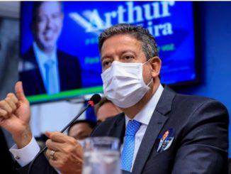 O líder do Progressistas (PP), deputado Arthur Lira, presidente da Câmara dos Deputados. Fonte: Agência Câmara de Notícias