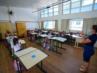 Entenda os critérios de vacinação para os professores em Santa Catarina – Foto: Ricardo Wolffenbüttel / Secom